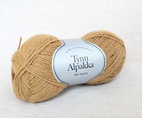 Tynn Alpakka Färg 102