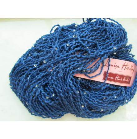 Grace Hand Beaded, färg 13, klarblå
