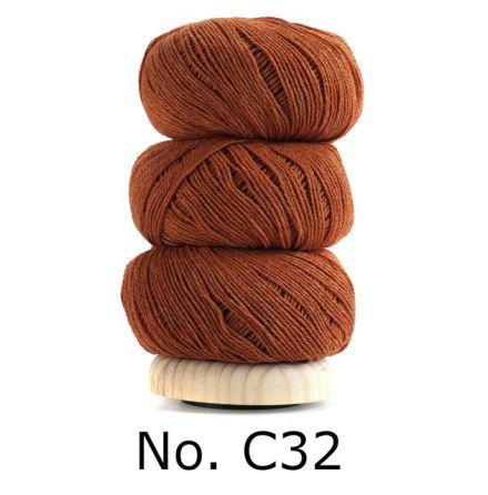 Geilsk Bomull & Ull, bränd orange 32