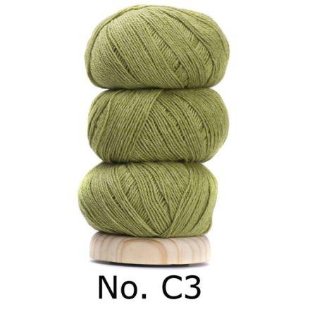 Geilsk Bomull & Ull, grön 3