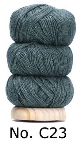 Geilsk Bomull & Ull, blå/grön 23