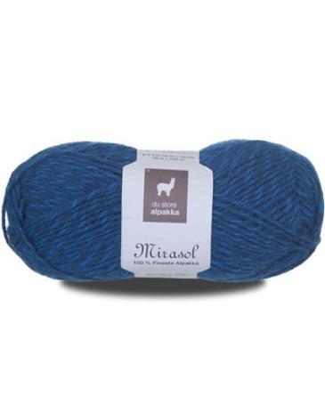 Du Store Alpakka - Mirasol Färg 2012 melerad petrol