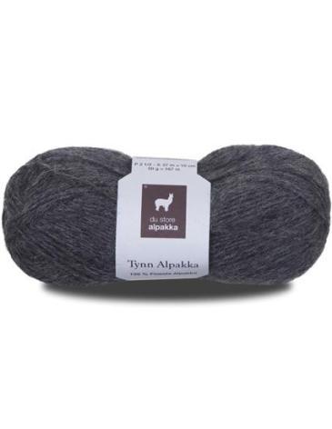 Tynn Alpakka Färg 113 (mellangrå)