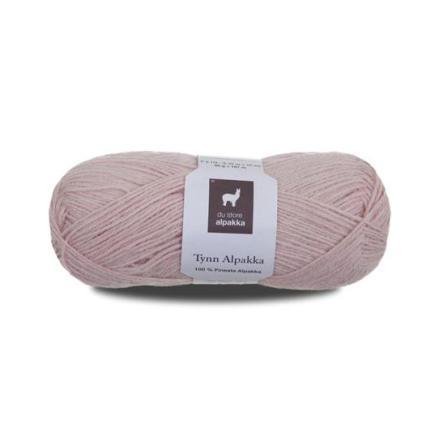 Tynn Alpakka Färg 173 puderrosa
