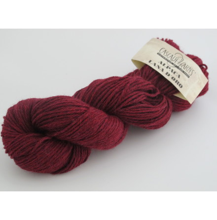 Alpaca Lana D'Oro, 1058 Ruby Heather