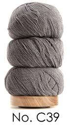 Geilsk Bomull & Ull, grå 39