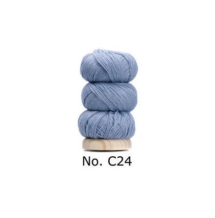 Geilsk Bomull & Ull, ljusblå 24