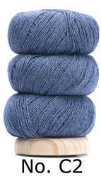 Geilsk Bomull & Ull, blå 2