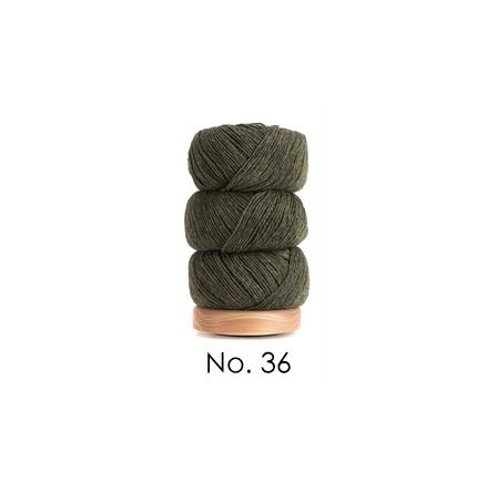 Geilsk Bomull & Ull, mörkgrön 36