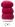 Geilsk Bomull & Ull, röd 41
