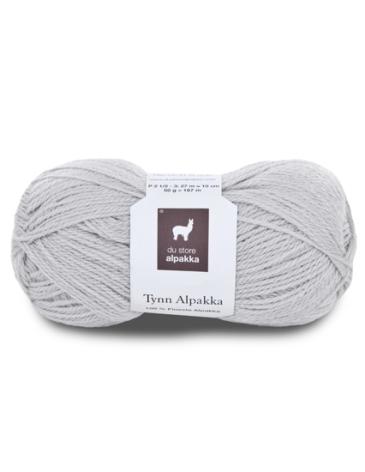 Tynn Alpakka, färg 118 Kitt