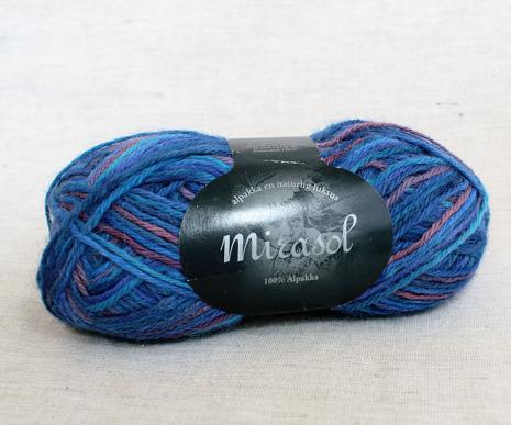 Du Store Alpakka - Mirasol Handmålat Färg 2073