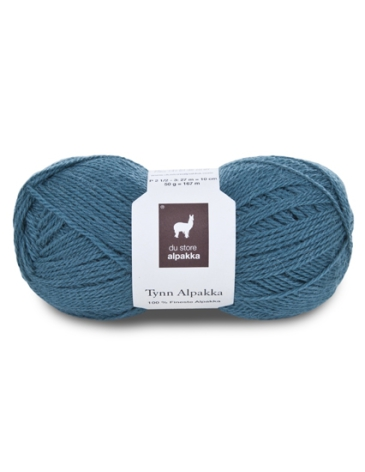 Tynn Alpakka Färg 119