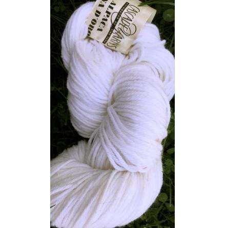 Alpaca Lana D'Oro, 1054 White