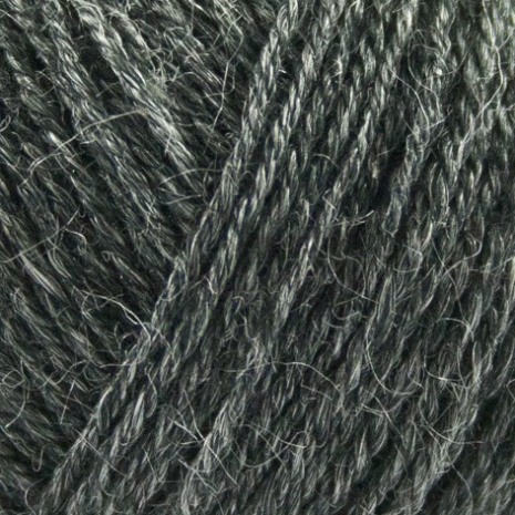 Onion Nettle Sock Yarn, nr. 1002, Koksgrå