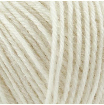 Onion Nettle Sock Yarn, nr. 1001, Naturvit