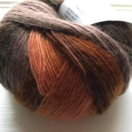 Jawoll Magic Degrade, nr 87 aprikos/brun/beige/rost