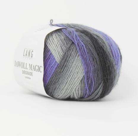 Jawoll Magic Degrade nr. 46, grå, lila nyanser