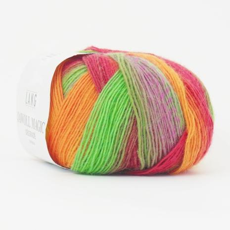 Jawoll Magic Degrade, nr 59, skarpa regnbågsfärger