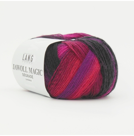 Jawoll Magic Degrade, nr 66, lila, rosa, grå nyanser