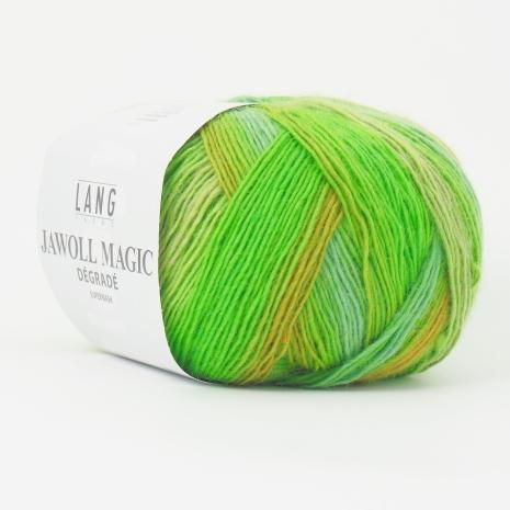 Jawoll Magic Degrade, nr 116 sommargröna nyanser