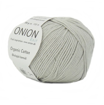 Onion - Organic Cotton Kittgrå  117