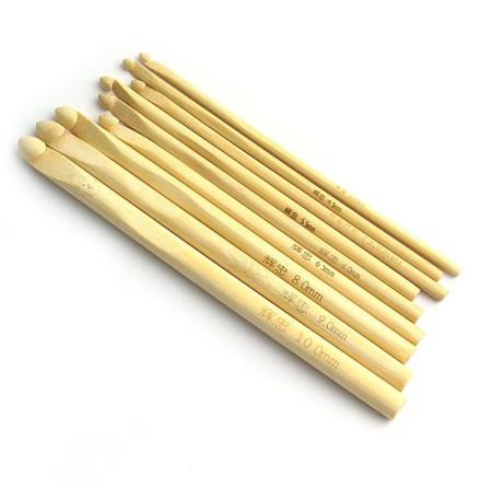 Virknålar i bambu