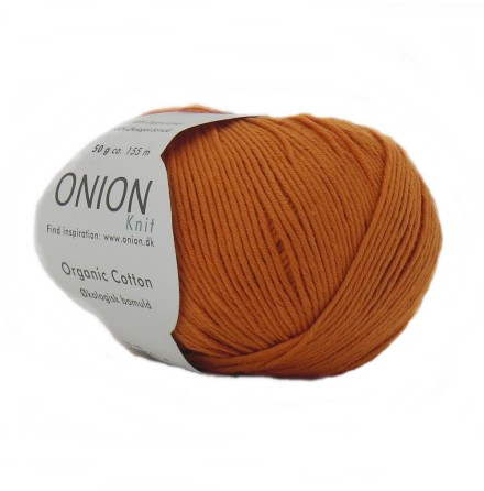Onion - Organic Cotton Orange 107