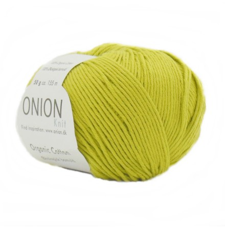 Onion - Organic Cotton Lime 114