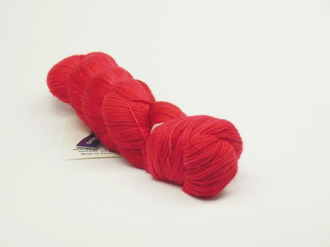 Malabrigo Lace, Vermillion 24