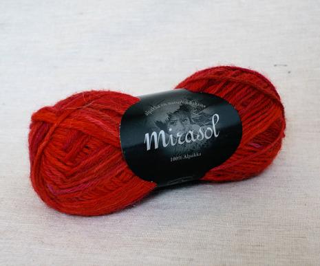 Du Store Alpakka - Mirasol Handmålat Färg 2071