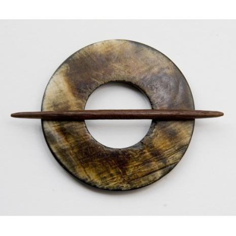 "Dekorativ sjal/koftnål ""cirkel"""