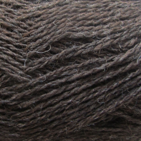 Isager Highland Wool, Chocolat