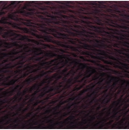 Isager Highland Wool, Wine