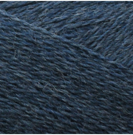 Isager Highland Wool, Demin Blue