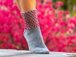 Karina - Socka med hjärtmönster