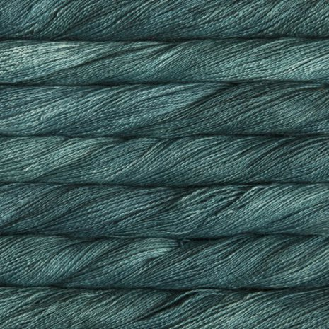 Malabrigo Silkpaca, Teal Feather 412
