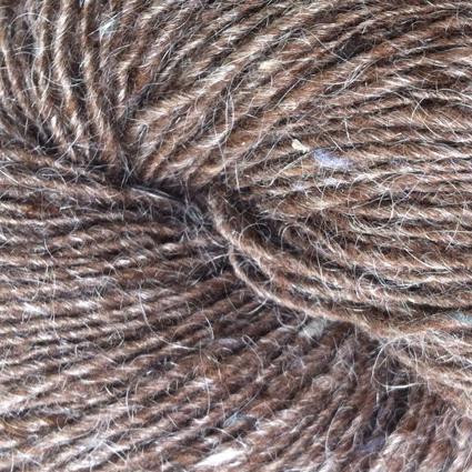 Isager Tweed, Walnut