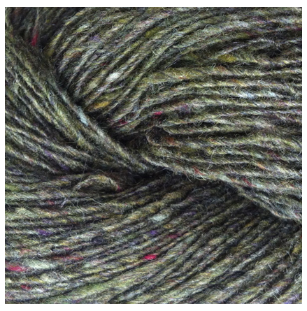 Isager Tweed, Bottle Green