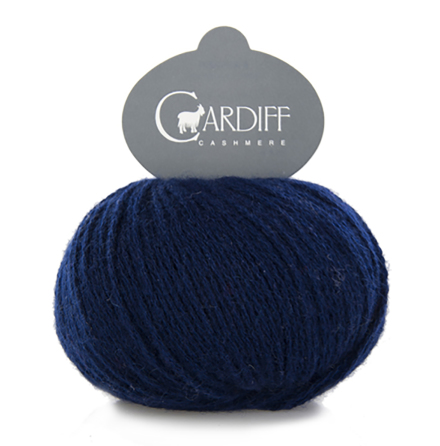 Cardiff Cashmere Classic Nr. 638 Indaco