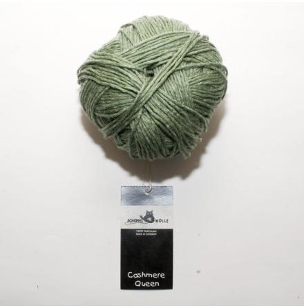 Schoppel Wolle garn Cashmere Queen, Skog 6165